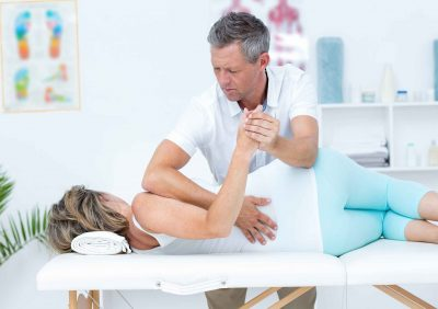 Lower back stretch Chiropractic Poole