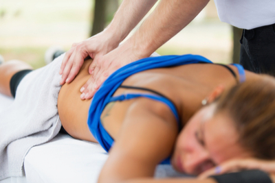 sports massage at Lilliput Health Poole