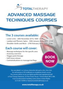 Total Therapy Sports Massage Course